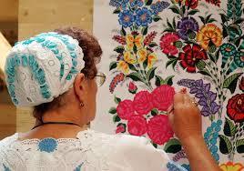 12 Best Hungarian images | Hungarian embroidery, Kalocsai